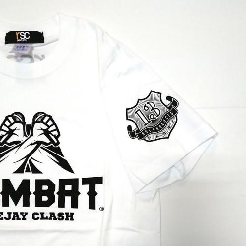 COMBAT Deejay Clash X RSC コラボ TEE