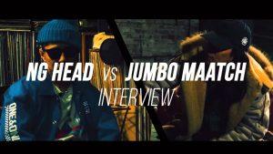 究極のMCバトルに挑む NG HEAD と JUMBO MAATCHに 緊急直前インタビューを敢行!